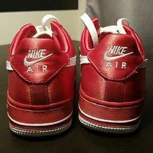 Nike Air Force XXV Satin Red AF 1 '82